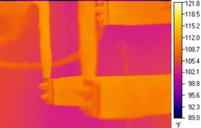 Infrared Viewing Panes Clip Image
